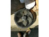 Commercial 3 phase fans