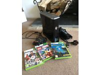 Xbox 360s 259gig 3 games