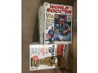 World Soccer Magazines