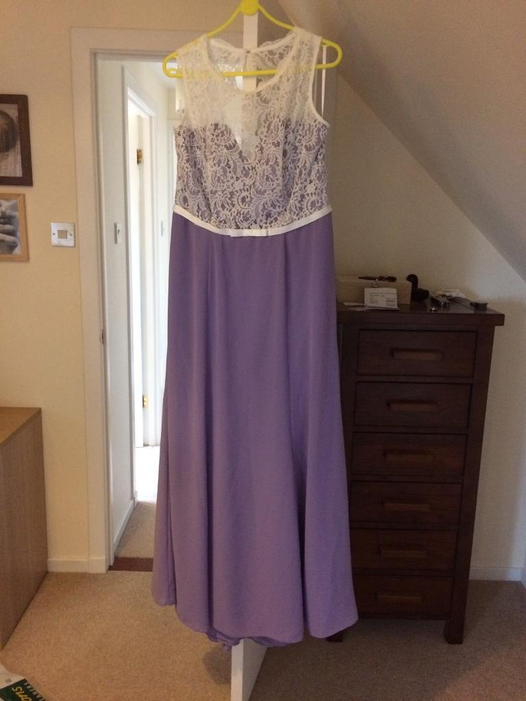 Bridesmaid dress (size 18 but tailored) | in Alford, Aberdeenshire ...