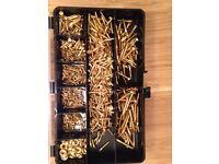 assorted brass screw set