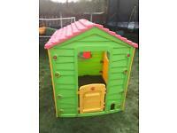 Children's outdoor house