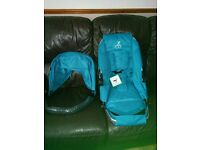 Icandy cherry berry blue NEW seat unit