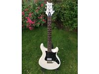PRS SE EG White - Grover Tuners with Seymour Duncan Invader Pickup
