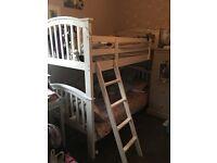 Joseph White Wooden Bunk Beds