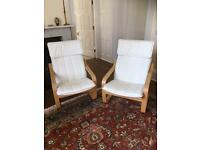 Ikea Poang chairs