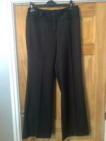 Next charcoal tailored trousers size 12L