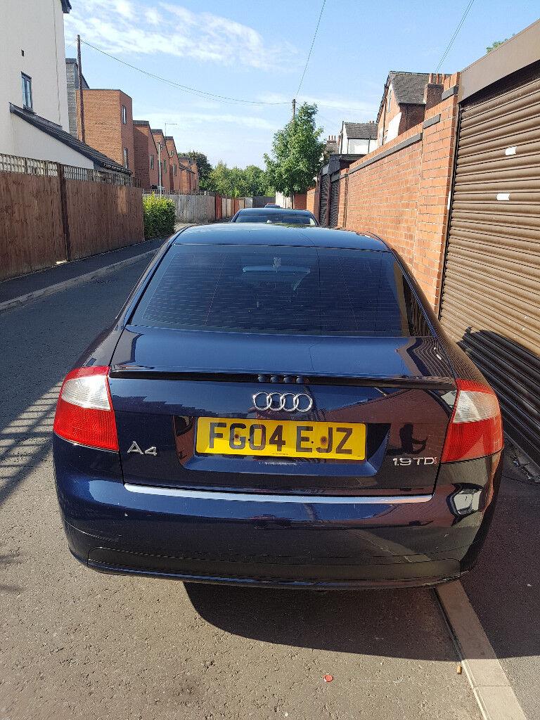 AUDI A TDI SPORT QUICK SALE In Bury Manchester Gumtree - Audi a4 2004 for sale