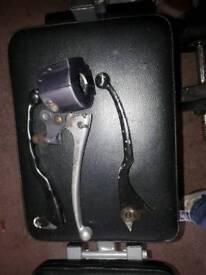 Susuki 250 gsx e brake and clutch levers