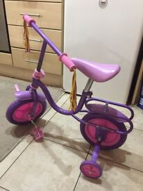 Kids bike Purple color