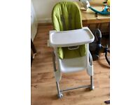 Oxo Tot High Chair - Very Good Condtion