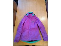 Womens Ski Jacket, Salomon, Purple - near perfect condition