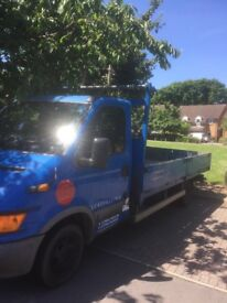Iveco daily flatbed lwb