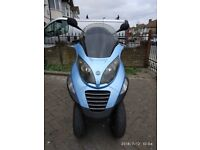 #MAuto(S) = 2006 Piaggio MP3 250cc BLUE Great Condition MOT Cheap Rd TAX ONE of A KIND The BEST