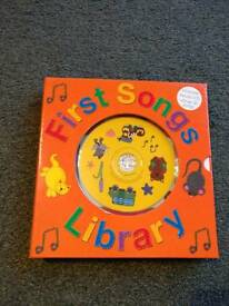 Nursery Rhyme Box Set of 3 Books and Audio CD