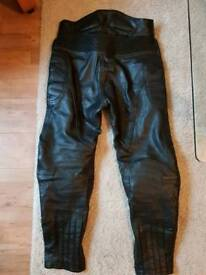 Dynamic Cowhide Leather Motorbike Trousers