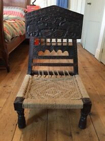 Antique Indian Folding Chair