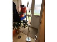 Beautiful floor lamp and matching table lamp