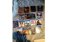 Multiple blu rays & blue ray box sets