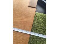 Solid oak living room tables