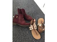 Size 13 Next boots and sandals