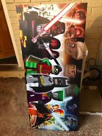 LEGO Hero's and Villains CANVAS