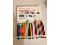 Personality and Individual Differences - Psychology Undergraduate Book