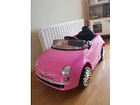 Fiat 500 battery powered ride on