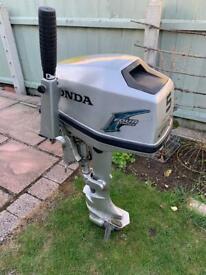 Honda bf5 hp outboard