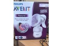 Philips avent manual breast pump