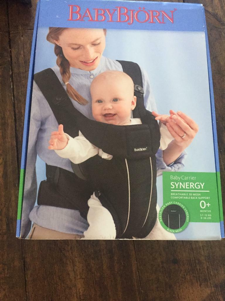 075f17a9e64 Baby Bjorn synergy baby carrier black mesh 0+