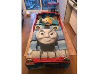 Thomas Tank Engine toddler bed. Mattress and bed set included