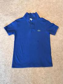 Selection of boys designer polo shirts.