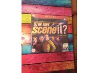 Star Trek scene it dvd trivia game unopened