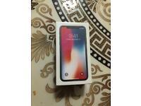 iPhone X 256GB Brand New Sealed
