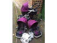 Purple baby jogger city select