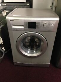 lovely silver washing machine for sale