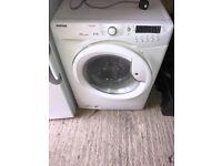 White washer dryer