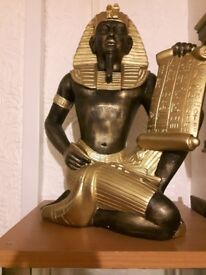 Egyptian Large Scribe Egyptian Statue