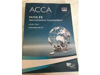 ACCA F5 Performance Management TextBook