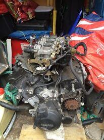 Yamaha r6 5sl engine 2003