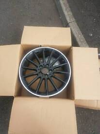 Genuine 18inch Mercedes alloy