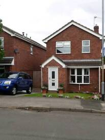 3 Bed detached house, with garden cabin/workshop in Cotgrave.