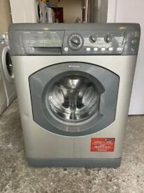 Hotpoint 7kg 1400 rpm Silver Colour Freestanding Washing Machine With Free Delivery 🚚