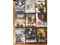 Action/war dvd's