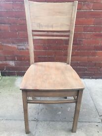 4 Barker and Stonehouse Dining Chairs
