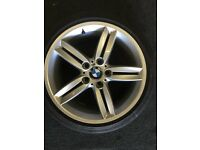 ONLY GOT ONE bmw 1 series alloy wheel 8.5x18 £175 call 07860431401