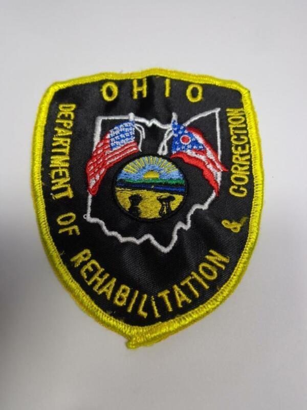 DEPARTMENT of REHABILITATION & CORRECTION OHIO OH. O. SHIRT ARM JACKET HAT PATCH