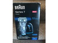 Braun series 7 wet and dry shaver