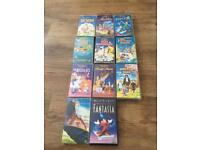 Walt Disney classic children's movies on vhs 30 in total